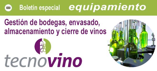 Tecnovino header especial envasado vino gestión de bodegas