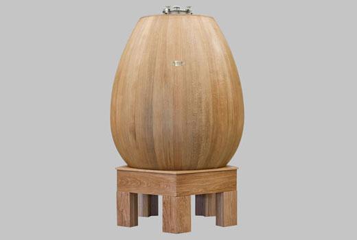 Tecnovino recipientes de madera para vino Taransaud Ovum 1