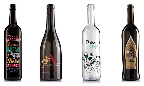 Tecnovino serigrafia en vidrio para vino Grupo Garzon 1 Bienbebida