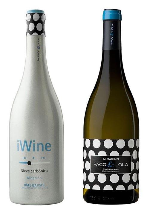 Tecnovino serigrafia en vidrio para vino Studio Glass 1 Paco y Lola