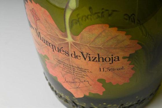 Tecnovino serigrafia en vidrio para vino Studio Glass 2 Vizhoja