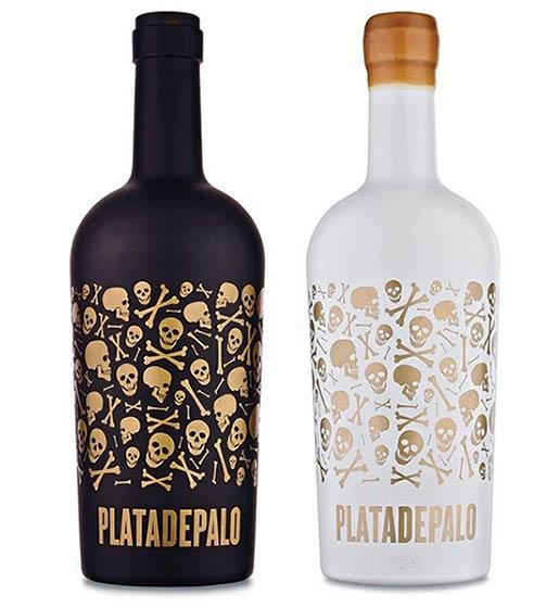 Tecnovino serigrafia en vidrio para vino Studio Glass 4 Plata de Palo
