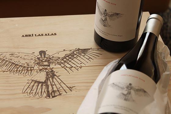 Tecnovino vino Abrí las Alas Valdemonjas