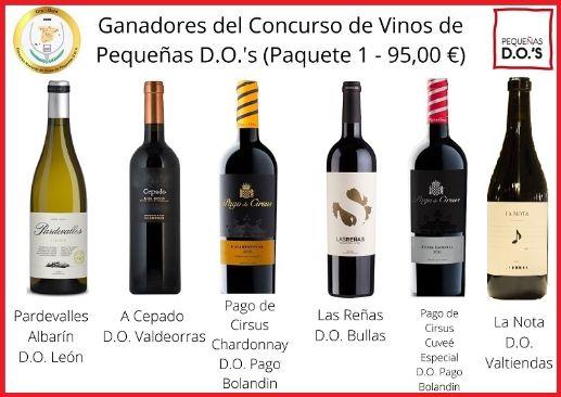 Tecnovino Concurso de Vinos de Pequeñas D.O.s