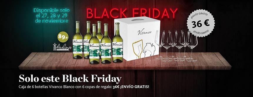 Tecnovino Vivanco blanco Black Friday