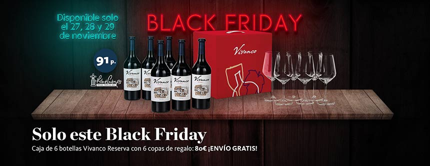 Tecnovino Vivanco reserva Black Friday