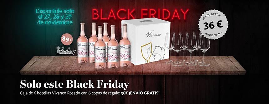 Tecnovino Vivanco rosado Black Friday