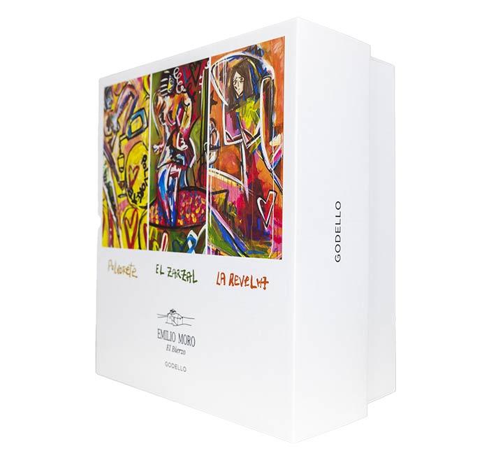 Tecnovino caja de godellos del Bierzo Emilio Moro