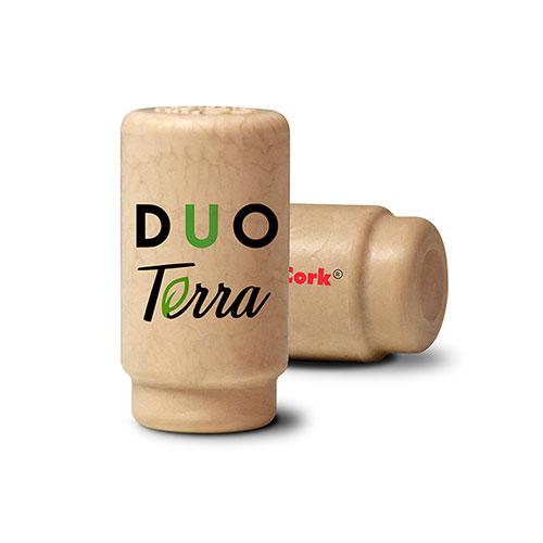 Tecnovino gama de tapones para vino Terra DUO Excellent Cork
