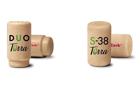 Tecnovino gama de tapones para vino Terra Excellent Cork detalle