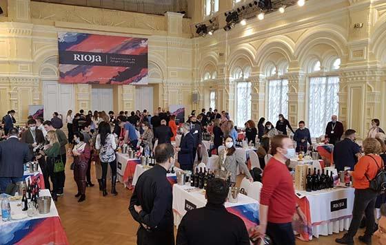 Tecnovino promoción de los vinos de Rioja detalle