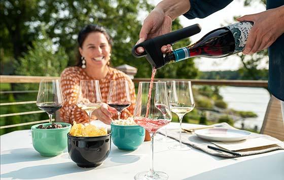 Tecnovino sistema de preservacion de vino Pivot Coravin 3