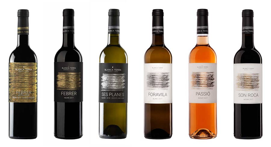 Tecnovino vinos Blanca Terra