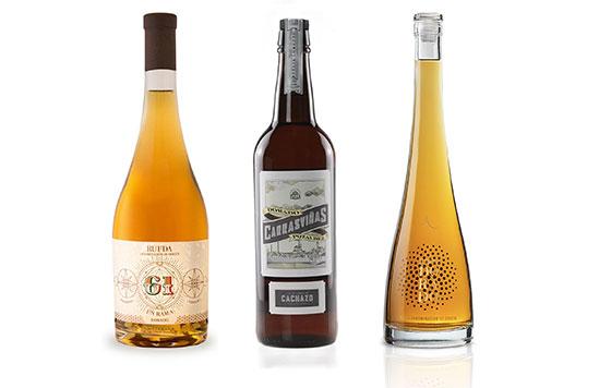 Tecnovino vinos dorados de la DO Rueda detalle
