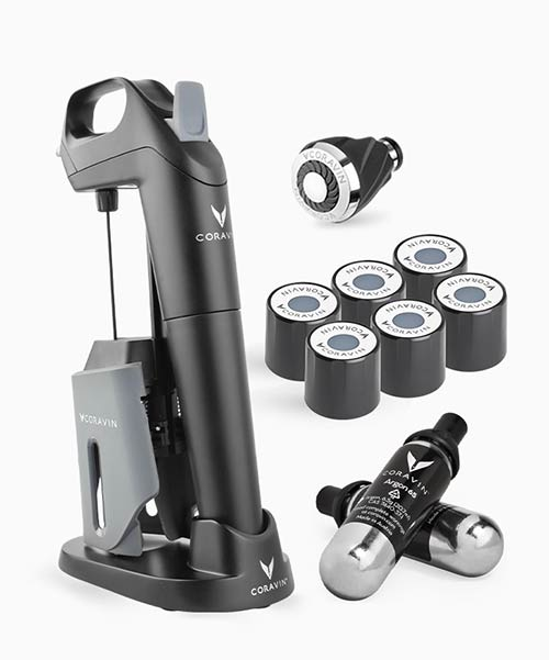 Tecnovino Coravin Model Three Wine Passion Pack
