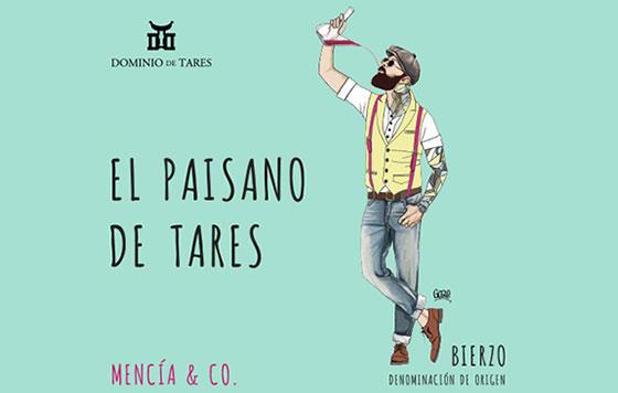 Tecnovino El paisano de Tares Dominio de Tares etiqueta detalle
