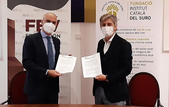 Tecnovino FEV ICSuro convenio sostenibilidad