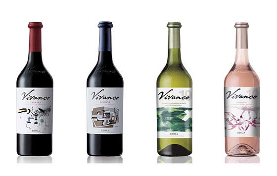 Tecnovino Vivanco gama de vinos detalle