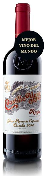 Tecnovino mejor vino del mundo Wine Spectator Castillo Ygay