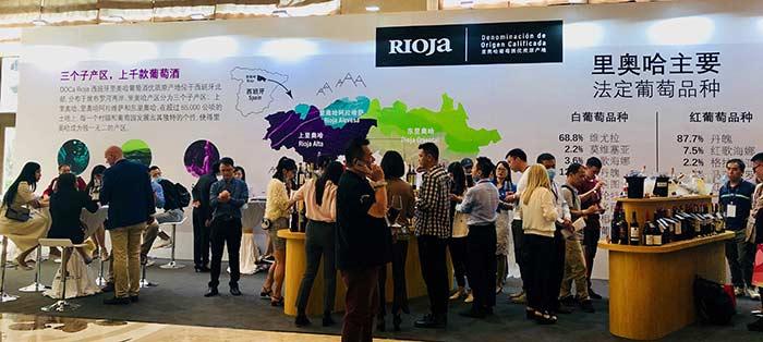 Tecnovino promocion de Rioja DOCa Asia