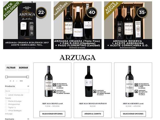 Tecnovino tienda online Bodegas Arzuaga 2