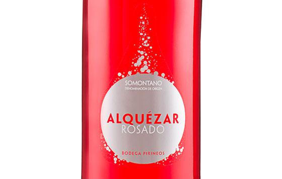 Tecnovino Alquézar Rosado 2020 detalle
