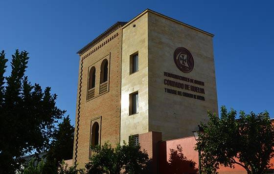 Tecnovino DOP Condado de Huelva fachada