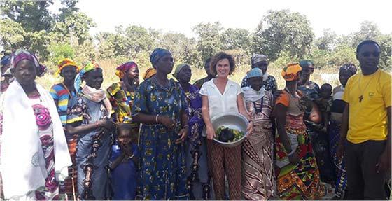 Tecnovino Maite de Aranzabal visita proyecto Viña Ardanza Solidario