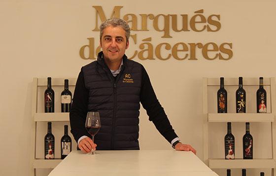 Tecnovino Marqués de Cáceres David Losantos