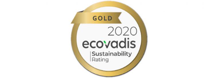Tecnovino Verallia sostenibilidad medalla oro ecovadis