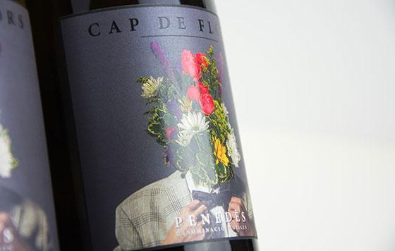 Tecnovino branding y comunicacion para el mundo del vino Cap de Flors