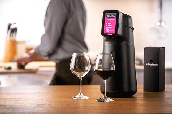 Tecnovino innovaciones para vino CES 2021 dispensador Albicchiere