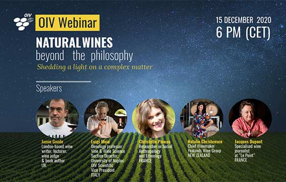 Tecnovino vinos naturales seminario OIV