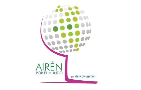 Tecnovino Airén por el Mundo logo