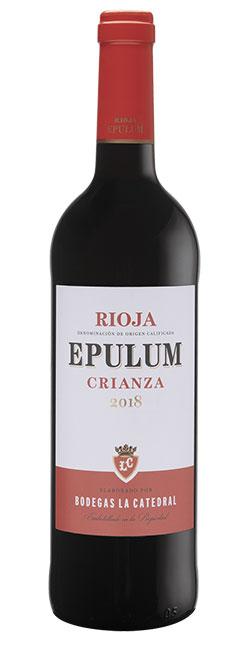 Tecnovino Epulum vino tinto crianza Rioja Aldi