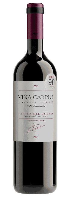 Tecnovino Viña Carpio vino tinto crianza Ribera Aldi