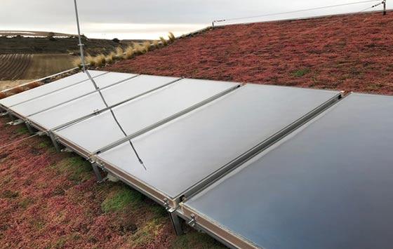 Tecnovino energías renovables González Byass Beronia Rioja termosolar