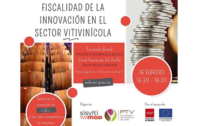Tecnovino fiscalidad de la innovación en el sector vitivinícola