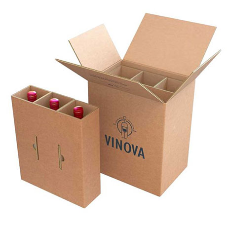 Tecnovino packaging para botellas de vidrio eBottle Smurfit Kappa envase 3