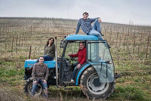 Tecnovino Bodega 2020 vino Ansa equipo tractor