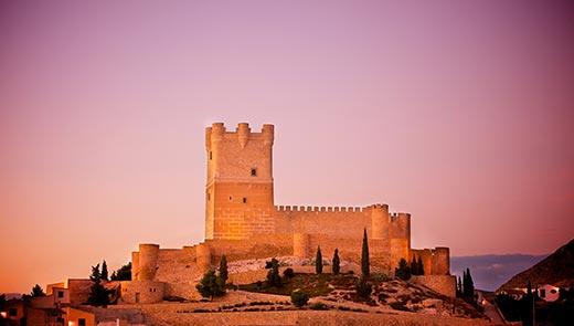 Tecnovino Ruta del Vino Alicante Castillo de Villena
