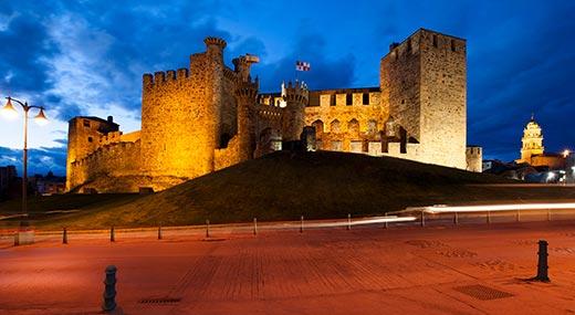 Tecnovino Ruta del Vino Bierzo Castillo de Ponferrada
