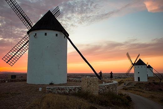 Tecnovino Ruta del Vino La Mancha Molinos de viento Alcazar de San Juan
