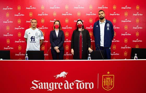Tecnovino Sangre de Toro patrocinio Selección Española Futbol