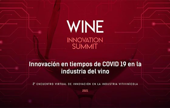 Tecnovino Wine Innovation Summit mayo detalle innovación del sector del vino