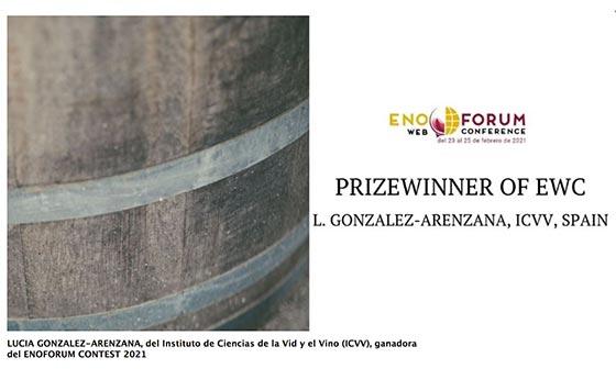 Tecnovino eliminación de Brettanomyces de la madera Lucía González ICVV detalle