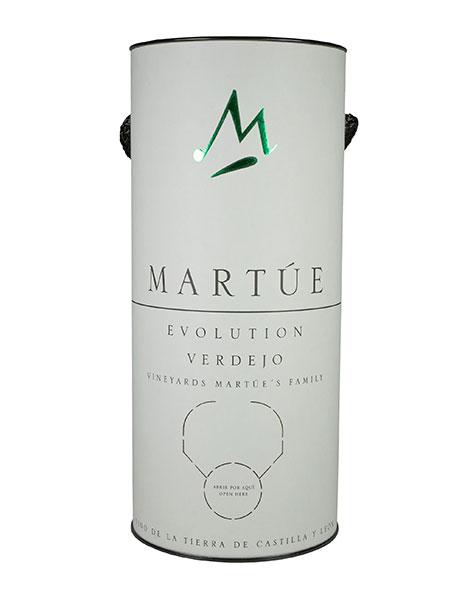 Tecnovino envase sostenible vinos Martue Evolution Bodegas Martue blanco
