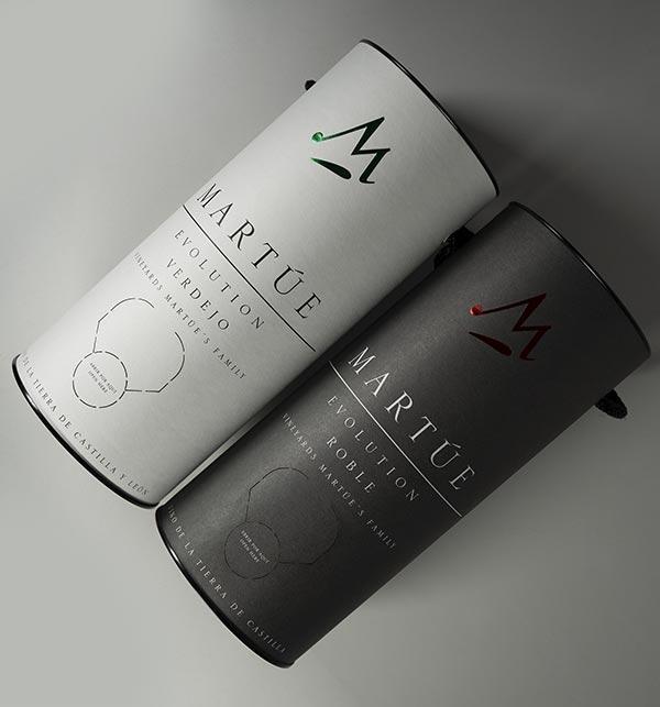 Tecnovino envase sostenible vinos Martue Evolution Bodegas Martue detalle