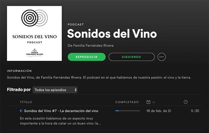 Tecnovino podcasting de Familia Fernández Rivera
