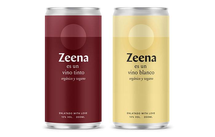 Tecnovino vinos en lata Zeena dos monovarietales